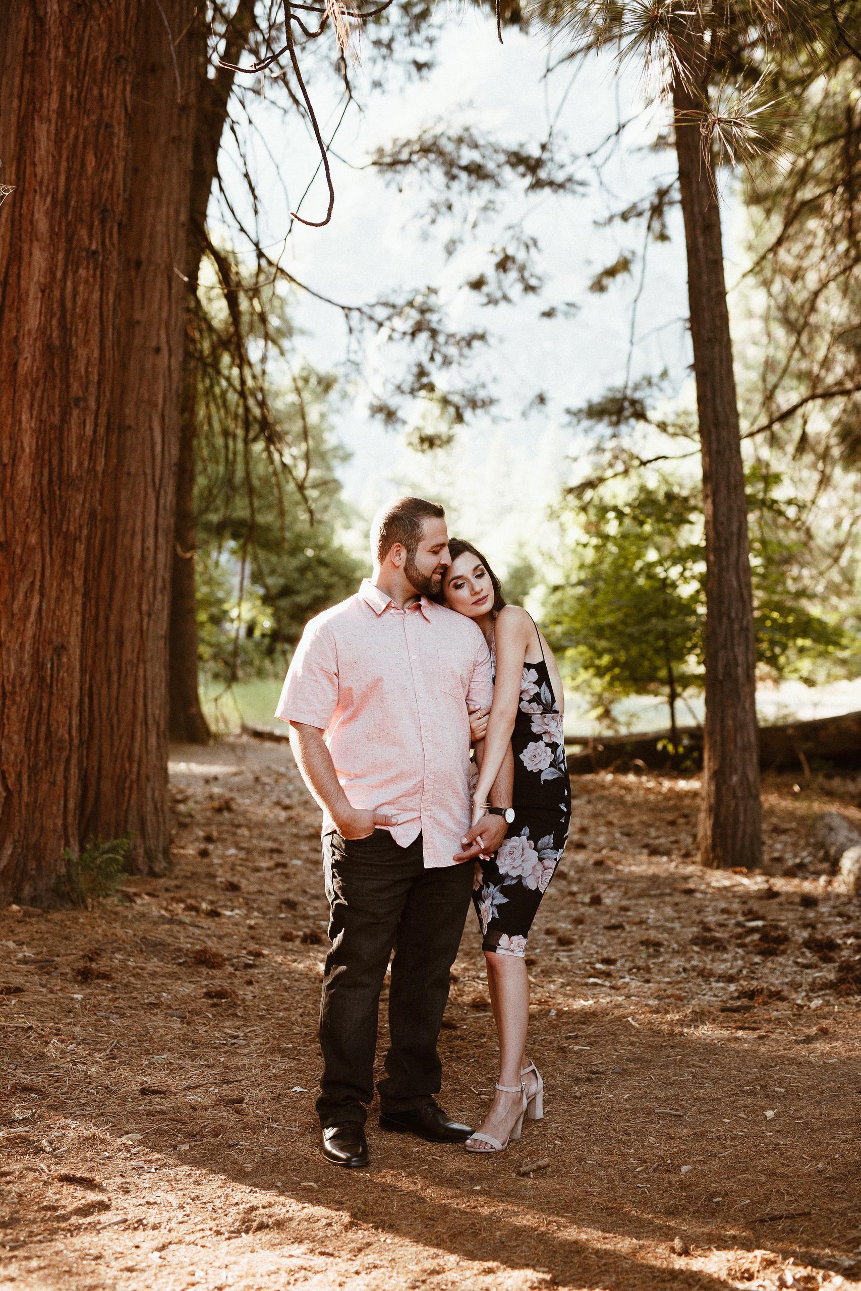 Shaun and Melanie in Yosemite
