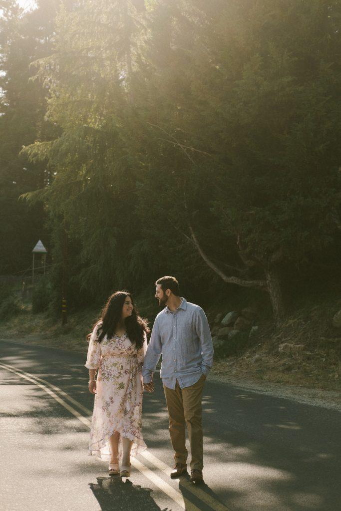 Nick and Natasha in Santa Cruz